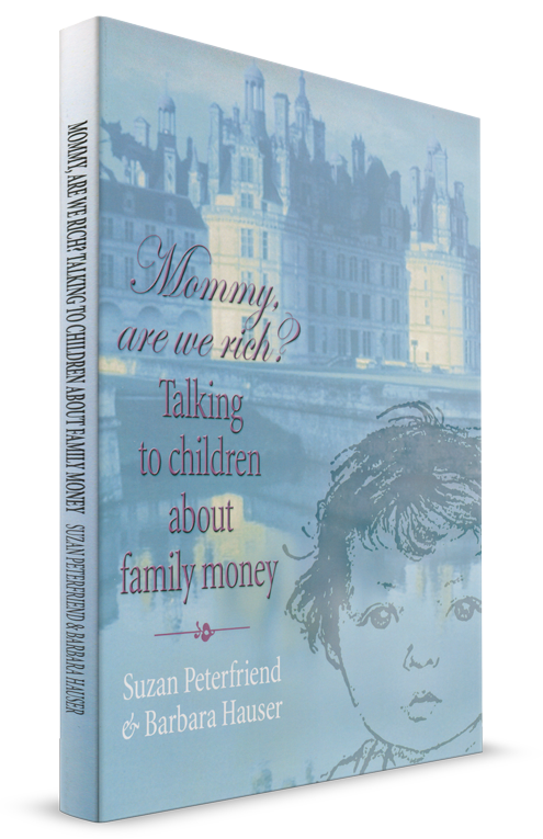 Mommy are we Rich Cover First Edition